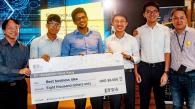 "RMBI Students Won the ""Best Business Idea Award"" in EY Hackathon Hong Kong 2017"