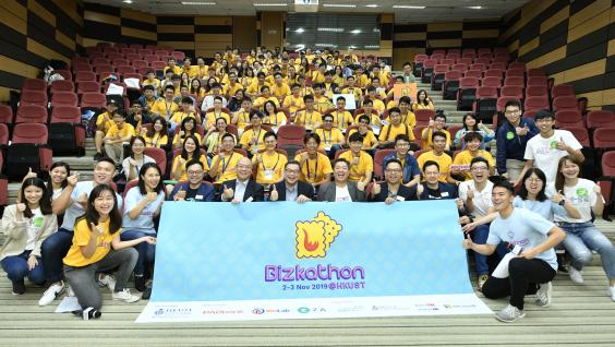 Bizkathon@HKUST is the first virtual banking hackathon in Hong Kong.