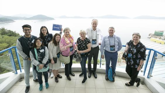 """Counselor Fly-in"" program allows overseas high school counselors to have a deeper understanding of what opportunities HKUST can offer to their students."