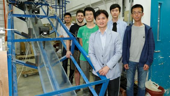 Prof Charles Ng (Front left)'s research team