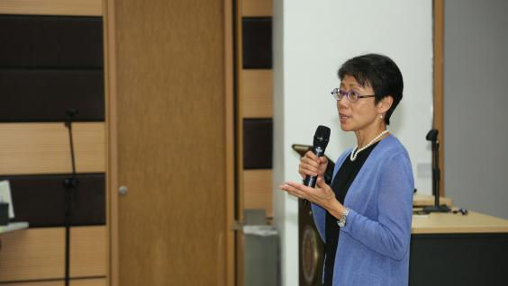 Prof Christine Loh, Chief Development Strategist in the Division of Environment and Sustainability, HKUST, emphasized that HKUST has much to contribute to the Chinese Mainland and the world.