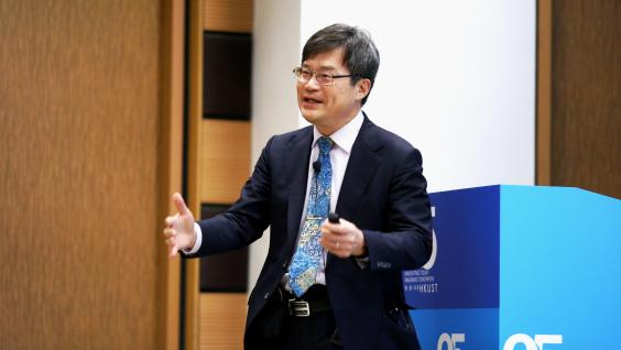 "Professor Hiroshi Amano shared his insights on ""Lighting the Earth with LEDs"""