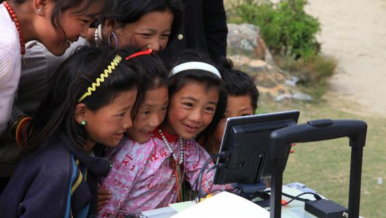 The Tibetans have great interest in the control equipment for the test flights