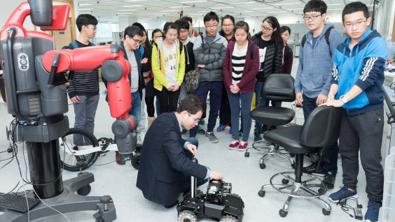 HKUST professors host interdisciplinary learning activities on campus which allow students to learn about the latest research and development in various areas.