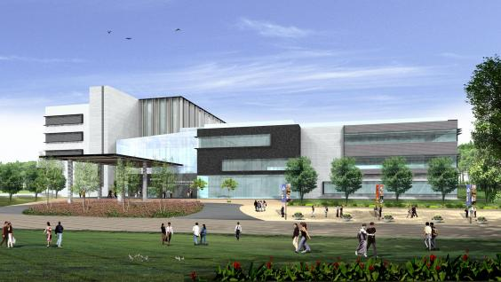 Artist's impression of the Fok Ying Tung Graduate School Building