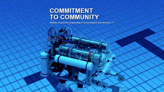 Mission to promote engineering in social projects and services