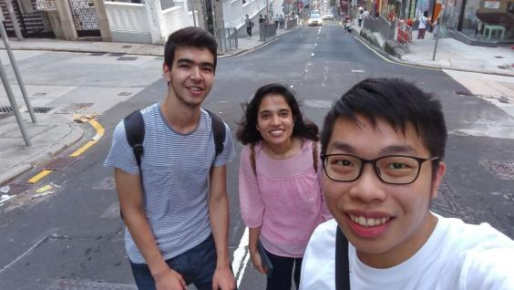 "Jason Ng, a Year-4 undergraduate says: ""One more pair of chopsticks is a very warm event – this is a unique experience for both foreign friends and local hosts to understand different cultures and help our friends to adapt to Hong Kong cultures."""