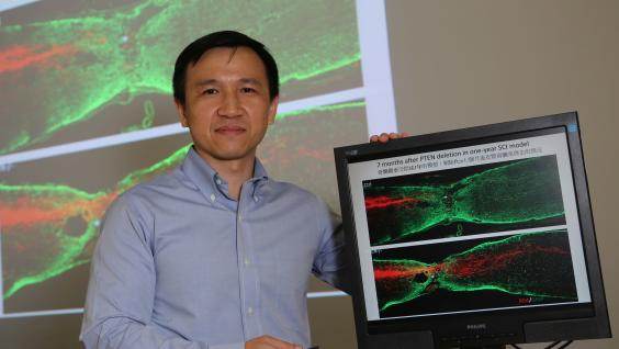 Prof Kai LIU from the Division of Life Science