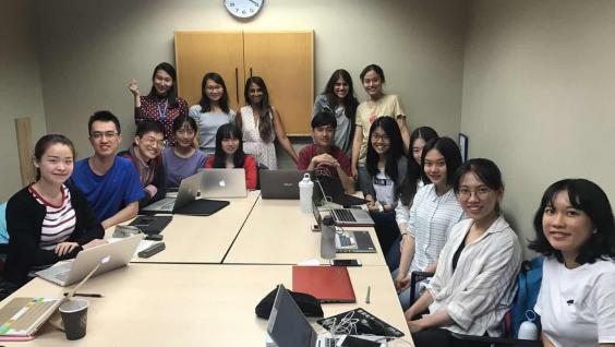 I went on exchange to the University of British Columbia during my studies in HKUST. This was the tutorial group with which I worked on a research project I worked on a research project.