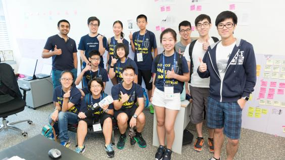 Students visited the start-ups at Science Park set up by HKUST students in the MPhil Program in Technology Leadership and Entrepreneurship.