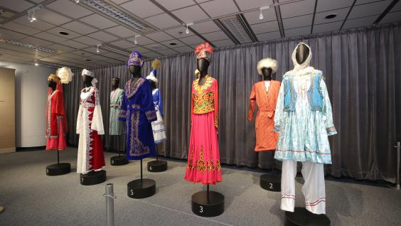The exhibition showcases more than 40 exhibits.