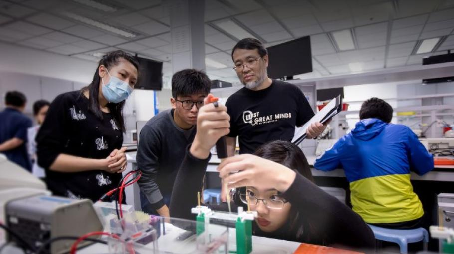 Propelling Hong Kong's Future Scientists Forward