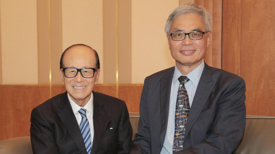Li Ka Shing Foundation's HK$500m Gift Helps HKUST Propel Synthetic Bio-technology Research Forward