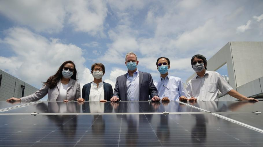 HKUST Goes Greener with Largest Solar Power Installation