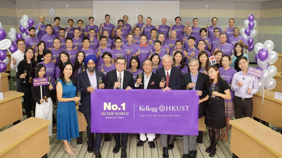 Kellogg-HKUST EMBA Sets Unprecedented Record of No.1 for Ten Times
