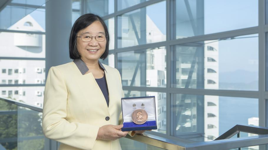 First Woman Winner of IET J. J. Thomson Medal for Electronics
