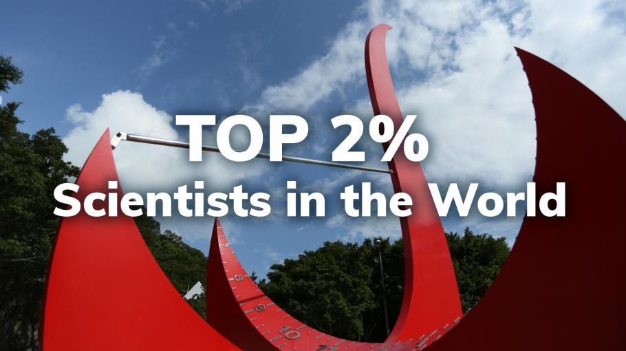 142 Faculty Members Ranked Top 2% Scientists Globally