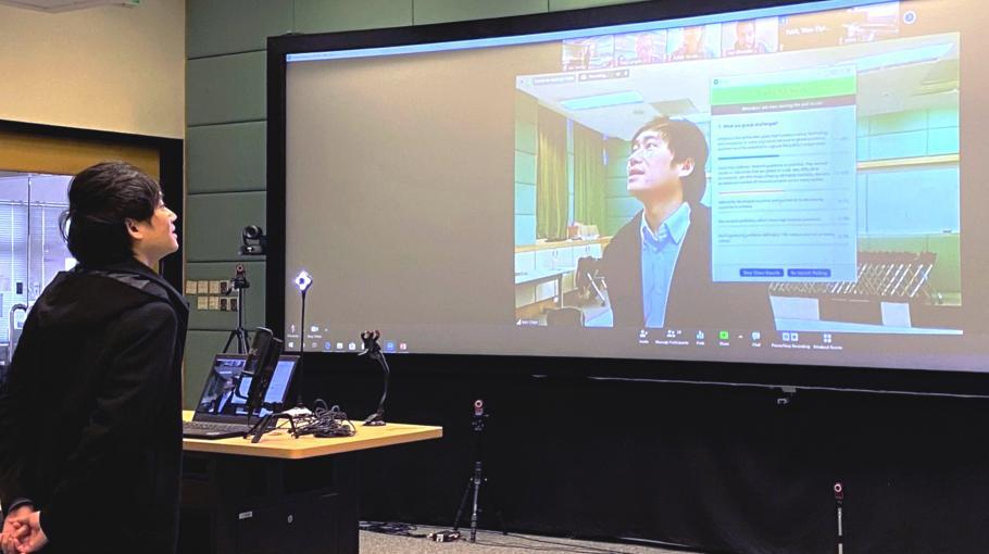科大设全港首个混合实境教室